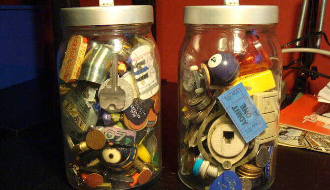 junk in jars