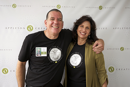Diana LaRue and Michael Speltz of Appleton Creative