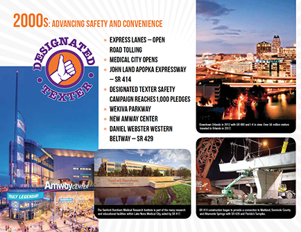 expressway authority 50th anniversary brochure