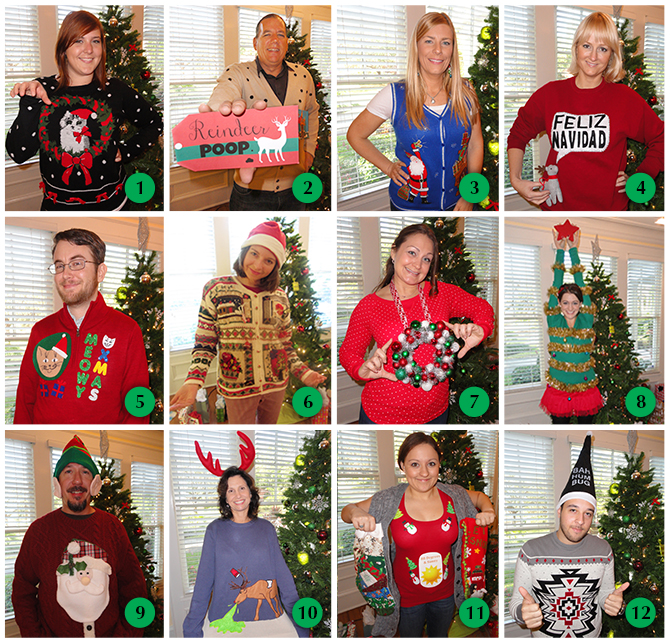 Appleton Ugly Sweater Contest 2013