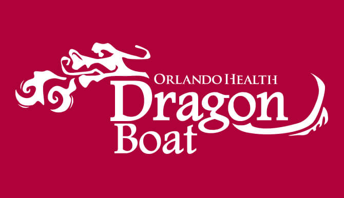 Orlando Health Dragon Boat logo