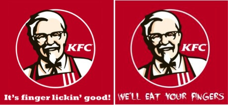KFC translation mistake