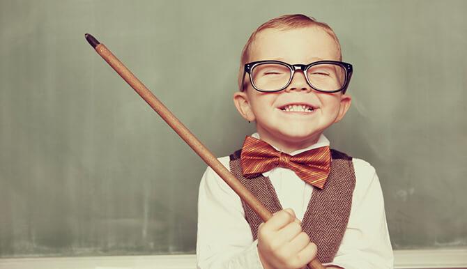 kid teacher