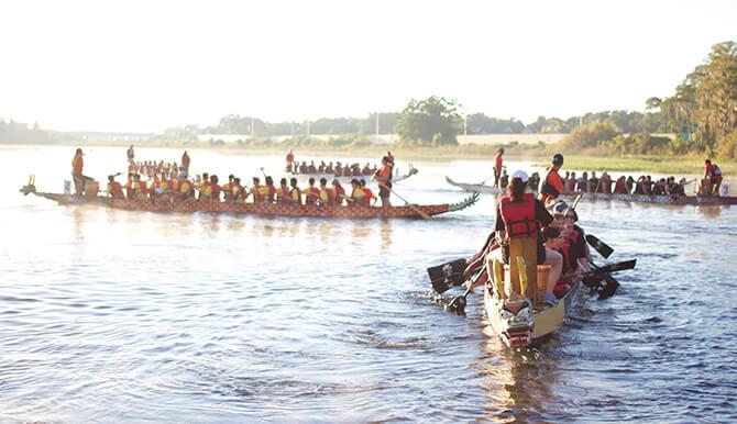 Orlando Dragon Boat pre-race