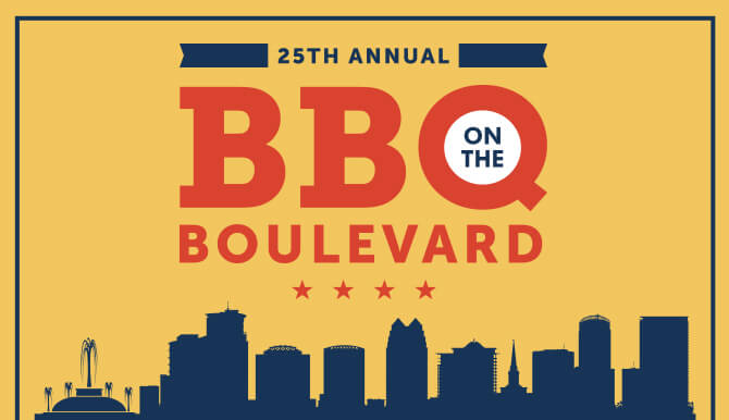 25th Annual BBQ on the Boulevard