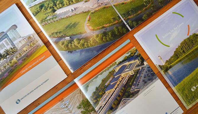 orlando international airport portfolio brochures