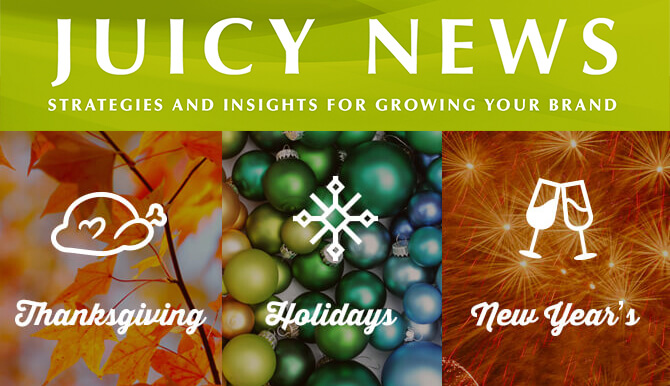 holiday newsletter blog header