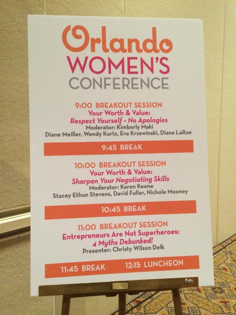 Orlando women's conerence schedule