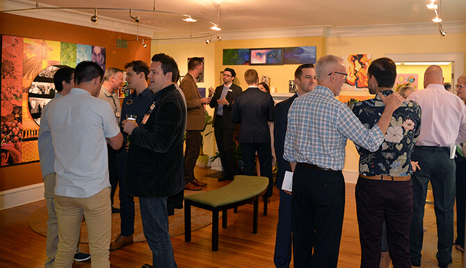 Orlando advertising agency hosts gallery show