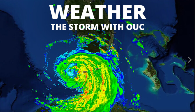 hurricane preparedness with OUC